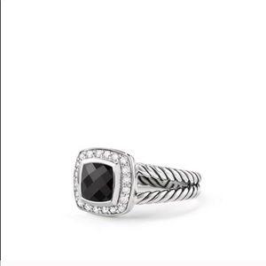 David Yurman Petite Black Onyx Albion Ring